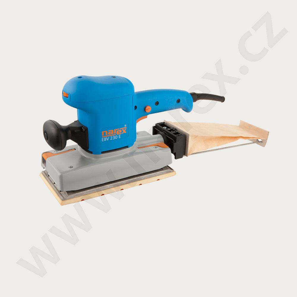 2ad5de0838828 Robustní vibrační bruska pro broušení ploch – 630388 2 EBV 230 E