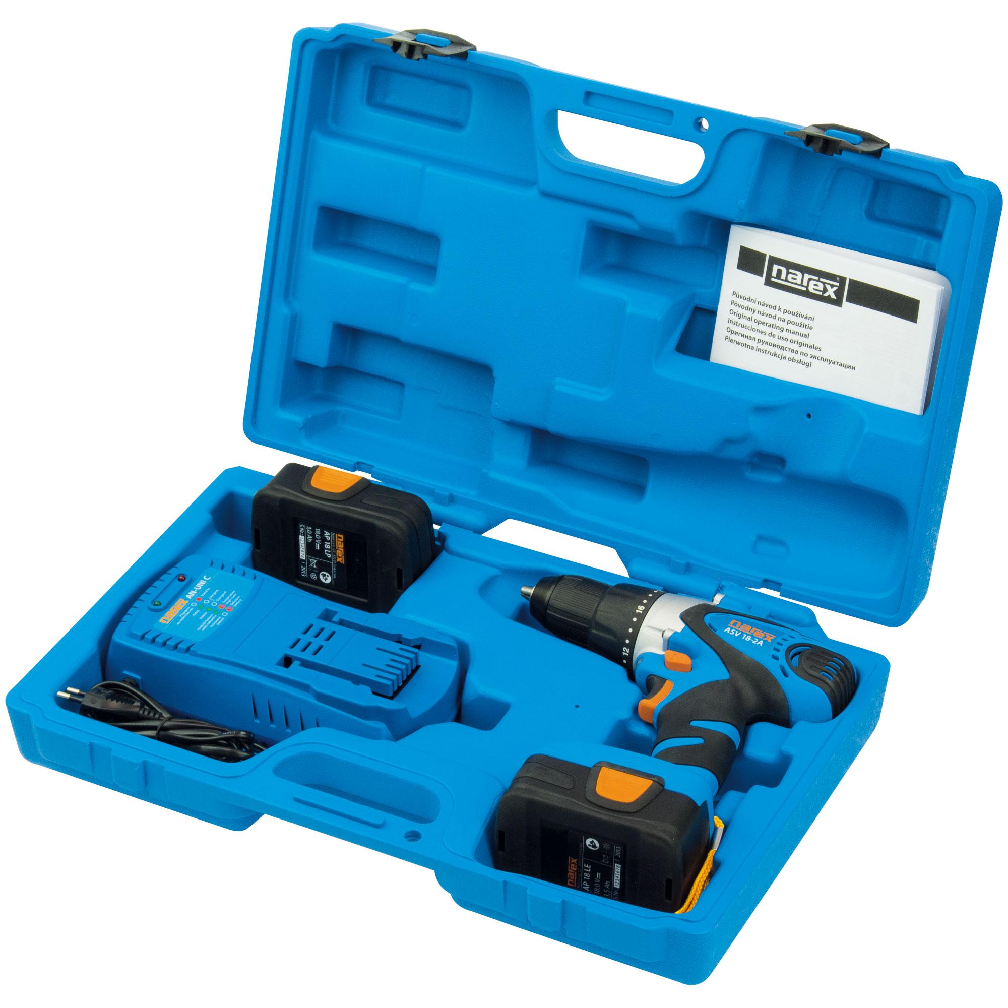 Cordless drill/driver ASV 18-2A - 65404187