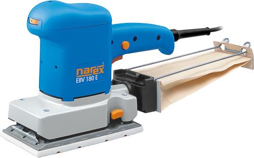 EBV 180 E - Robustní vibrační bruska pro broušení ploch