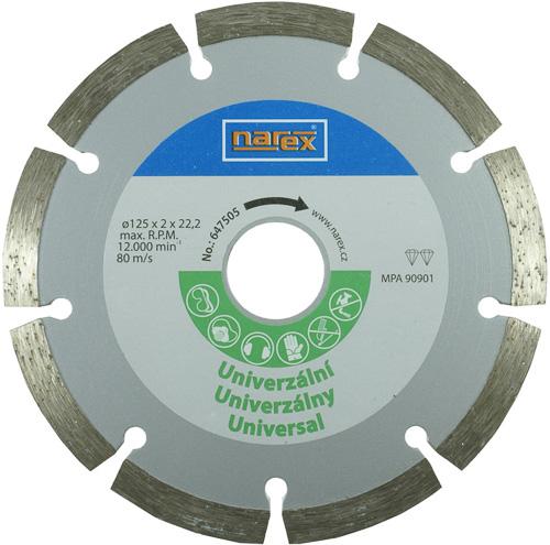 Dia 125 Universal - Diamantový řezný kotouč - universal sintrovaný