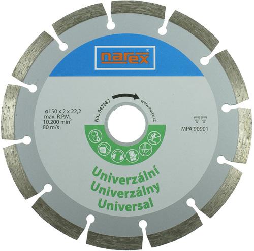 Dia 150 Universal - Diamantový řezný kotouč - universal sintrovaný