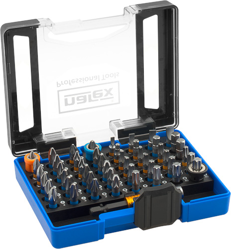 52-Bit Box SUPER LOCK - 52dílná sada bitů
