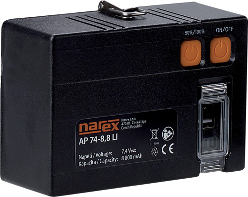 AP 74-8,8 Li-Ion - Akumulátor pro reflektor FL LED 50 ACU