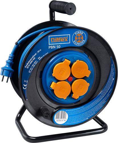PBN 50 - Gumový prodlužovací kabel na bubnu – 50 m