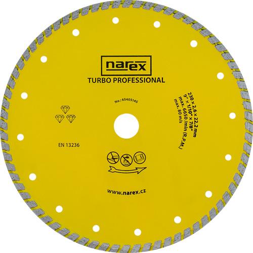 DIA 230 TP - Diamantový dělicí kotouč pro stavební materiály TURBO PROFESSIONAL