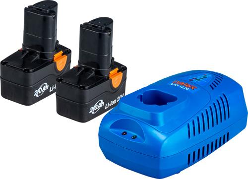 SET AP 204 - Set akumulátoru a nabíječky